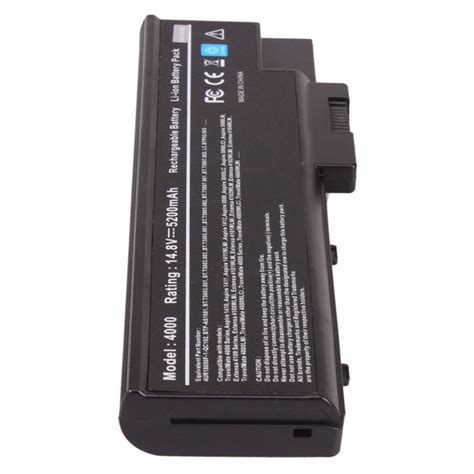 Battrey Acer Travelmate 4070 Black 6 Cell 14 8v 8 cell battery for acer travelmate 2300 2300lc 4000 4010 4060 4100 4500 ebay