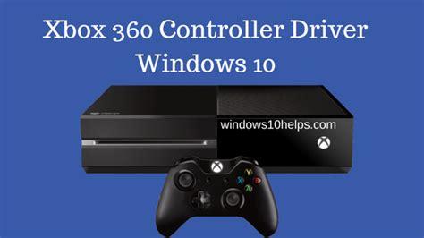 driver xbox 360 controller xbox 360 controller driver windows 10