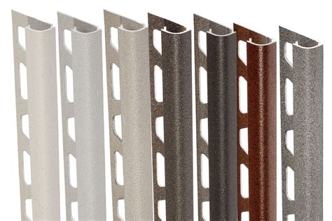 schluter colors schluter 174 rondec edging outside wall corners for