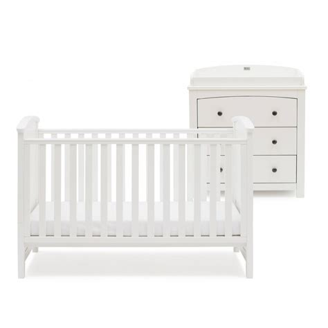 Silver Cross Nursery Furniture Sets Silver Cross Ashby Style 2 Nursery Furniture Set