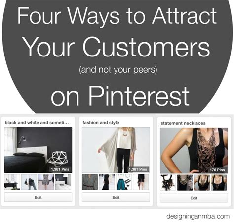 Designing An Mba four ways to attract your customers not your peers on