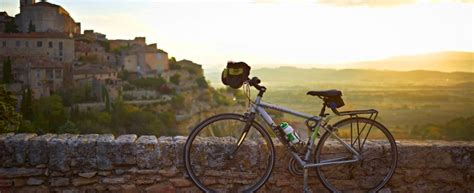 living on the road motorcycle travels on a budget books luberon biking bike travel luberon classic provence