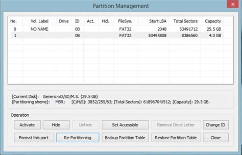 format factory sd card partitioning unable to format partitioned 32 gb micro sd