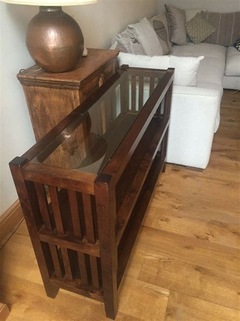 Laura Ashley Garrat Console Table/Bookcase/Sideboard With