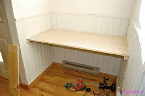 built in desk pdf woodworking