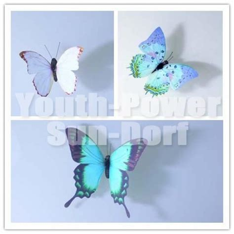butterfly home decor 12pcs 3d wall sticker butterfly home decor decorations