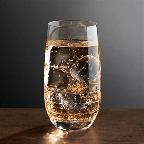 ana highball glass reviews crate  barrel
