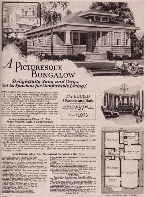 1930s bungalow floor plans montgomery ward kit home 1930 bungalow hip roof euclid
