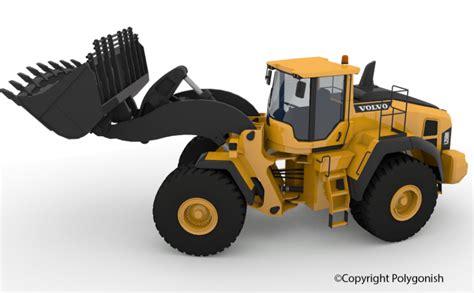 Wheel Loader Kaos 3d Genethics volvo l250h wheel loader 3d model polygonish store