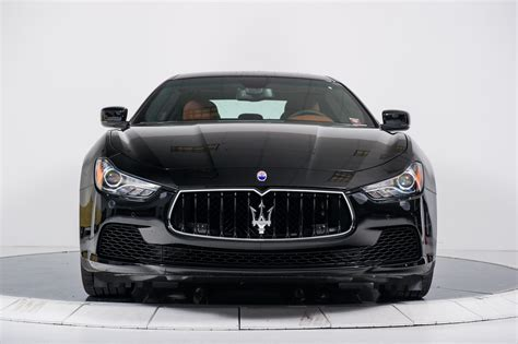 black maserati sedan maserati ghibli 2016 image 153