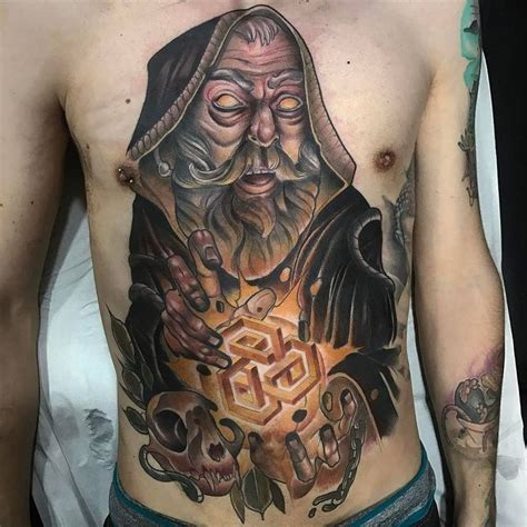 white wizard tattoo 1000 ideas about wizard on