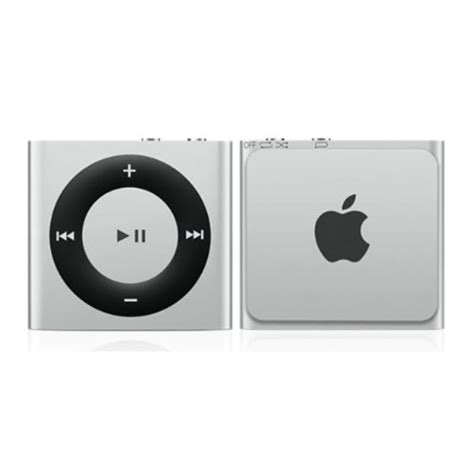 Apples Ipod Shuffle Now Out In A Selection Of Colours by Apple Ipod Shuffle 2gb 4th Silver Iwoot