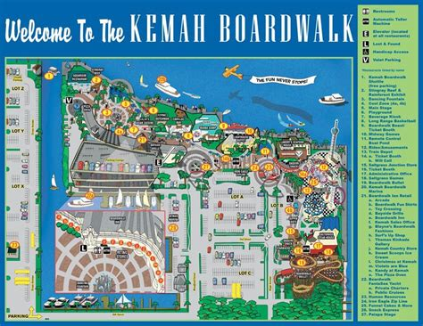 kemah texas map map of kemah boardwalk texas outlaw challenge