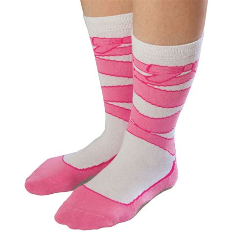 shoe socks silly socks ballet shoe iwoot