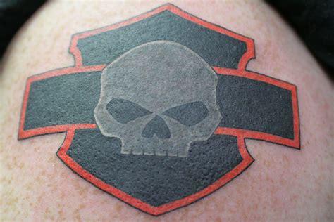 harley davidson skull tattoos my harley davidson my style harley