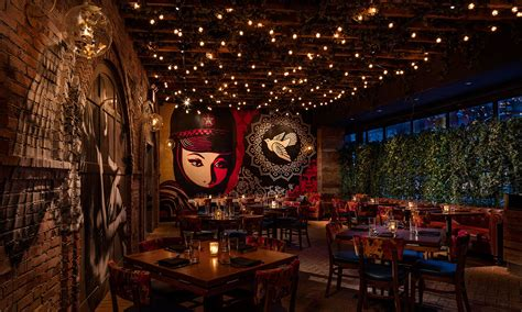 Red Dining Room Walls Vandal Restaurant New York City Vogue