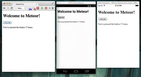 meteor mobile synapseindia mobile apps with meteor my
