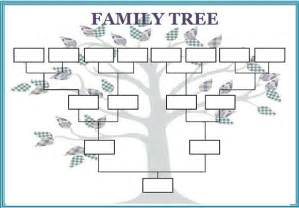 Free Templates For Family Trees by Family Tree Template 29 Free Documents In Pdf