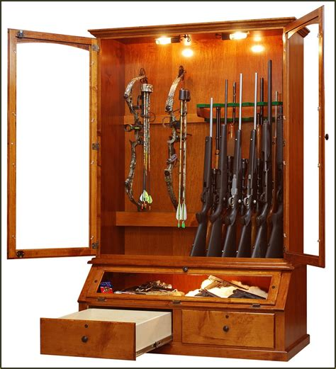in wall gun cabinet mirror home design ideas