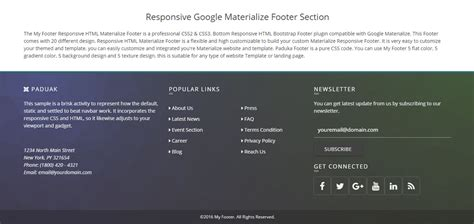 bottom responsive html bootstrap and materializecss bottom responsive html bootstrap and materializecss
