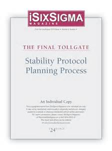 Stability Protocol Template stability protocol planning process isixsigma marketplace