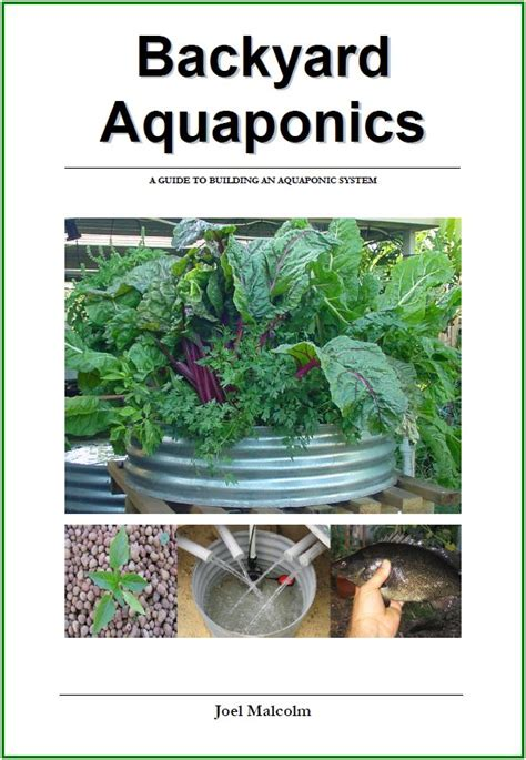 backyard aquaponics manual electronic edition backyard