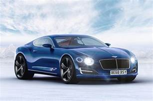Bentley Gt Sport Price 2018 Bentley Continental Gt To Be Brand S Most High Tech