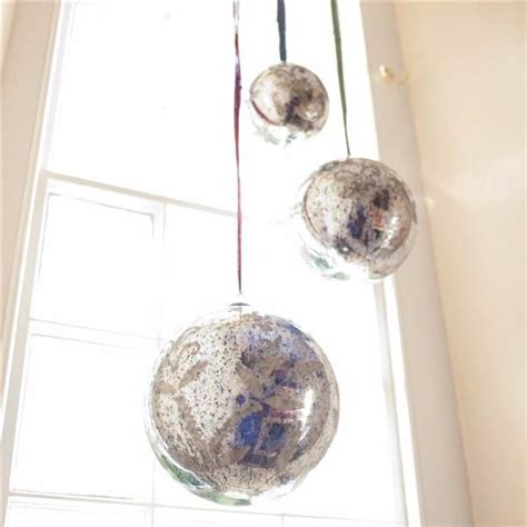 Dining Room Wall Panels giant christmas baubles
