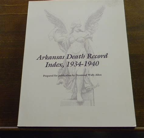 Arkansas Records Arkansas Records Index 1934 1940