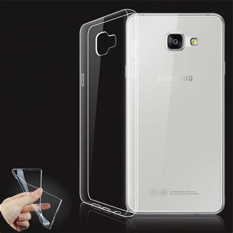 A3 2016 A310 Casing Set tempered glass for samsung galaxy a3 2016 a310f a310 silicone ultra thin transparent