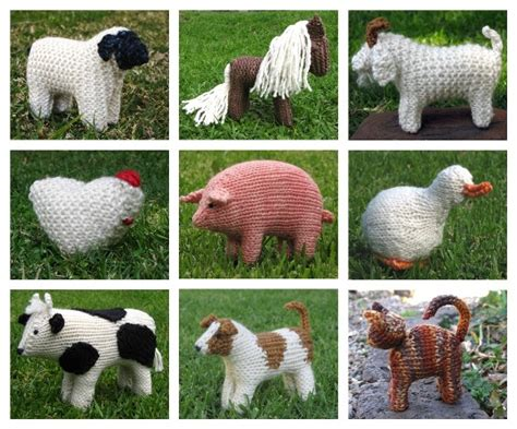 knitting patterns of animals knitting farm animals archives suburbia
