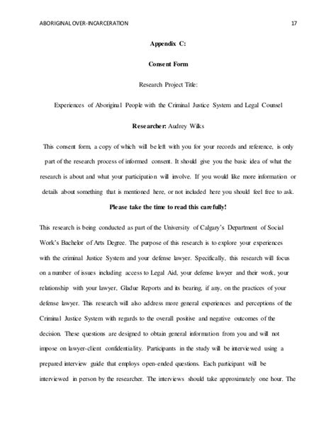 Letter Of Consent Qualitative Research qualitative research report