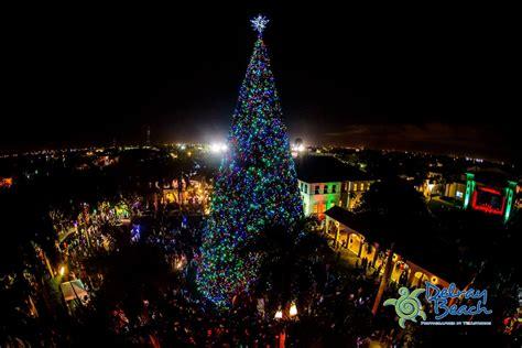 delray beach tree lighting 2017 delray beach christmas tree lighting decoratingspecial com