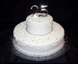 25th anniversary cake cakes pinterest