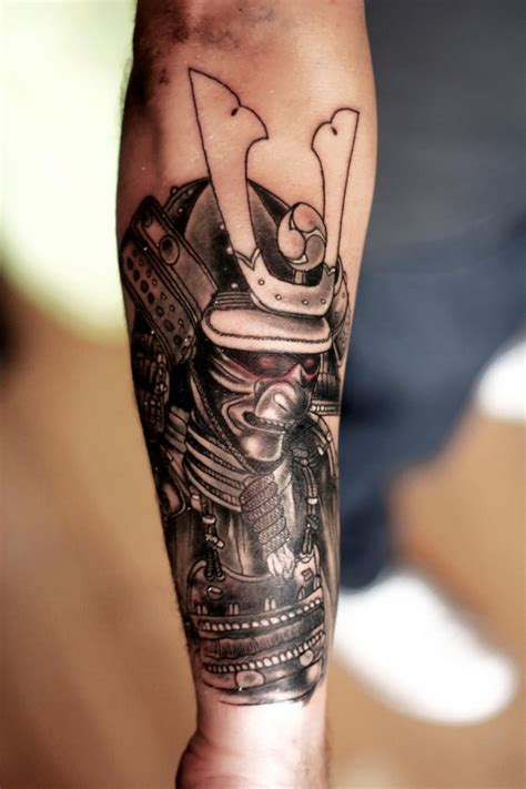 awesome samurai tattoos