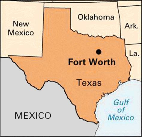 fort texas location map texas fort worth britannica homework help