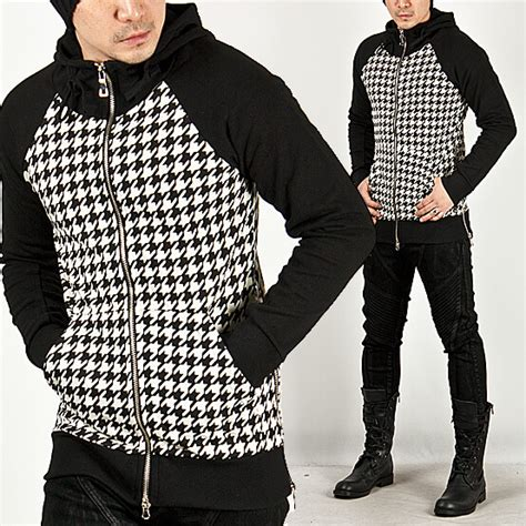 pattern zip up hoodie tops sold out striking contrast accent galaxy pattern