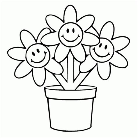 coloring page of a flower pot 9 flower pot templates psd vector eps jpg ai