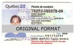 canadian id card template canada id canada drivers license