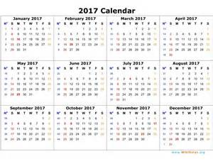 2018 Calendar With Religious Holidays Commonly Observed National And Religious Holidays 2017