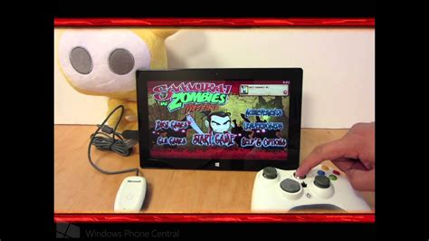 Controller Für Xbox 360 1592 by Samurai Vs Zombies Windows 8 Xbox Controller Tutorial