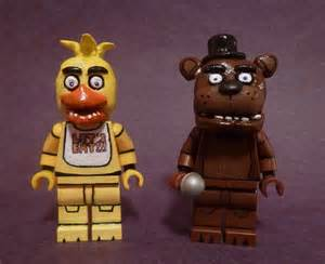 Lego five night s at freddy s chica and freddy finished t