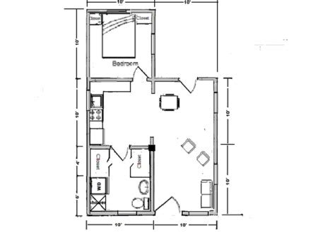 10 x 20 cabin floor plan simple house plans designs simple modern house plan