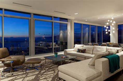 modern condo living room vancouver condo contemporary living room vancouver by burritt bros carpets
