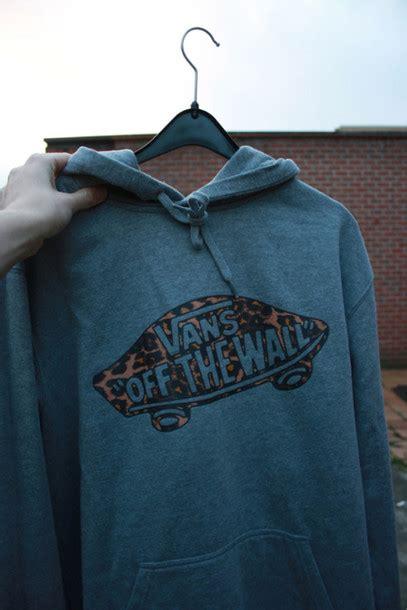 Sweater Vans The Wall sweater hoodie cheetah is the new black leopard print