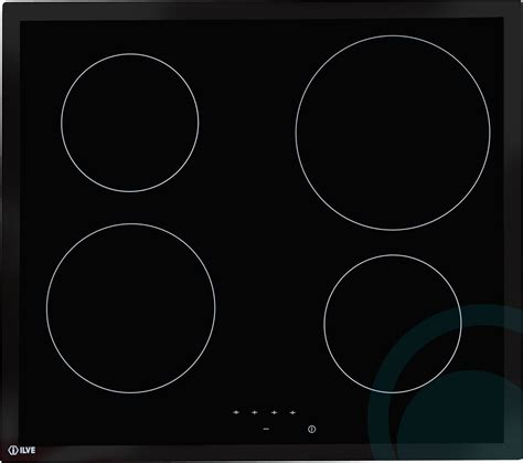 Ilve Cooktop ilve electric cooktop ilc604b appliances