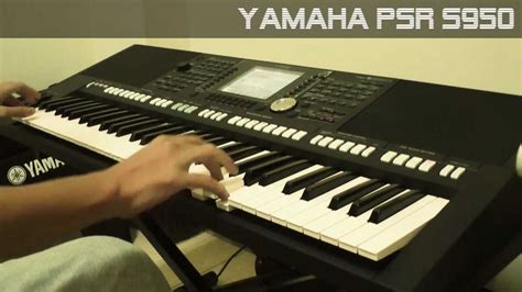 Keyboard Yamaha Psr S950 Second yamaha psr s950 moviesoundtrack style demo