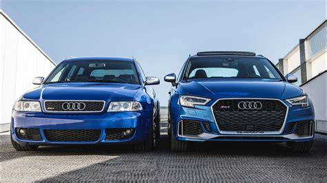 Audi Rs4 Vs by New Meets An Icon 2018 Audi Rs3 Sb Vs Audi Rs4 B5 Avant
