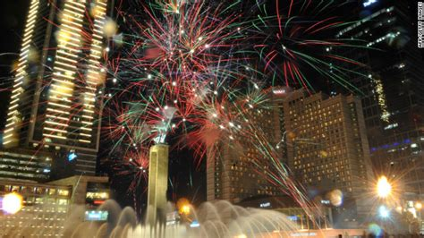 new year traditions in indonesia world welcomes 2012 with cheers celebrations cnn