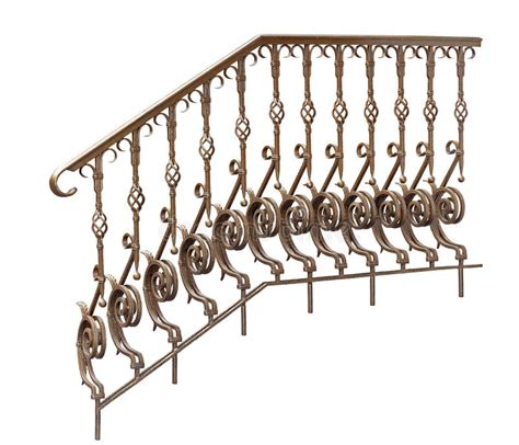 decorative banisters decorative banisters railing stock photo image of